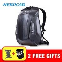 Cool Men's Motorcycle Bag Waterproof Motorcycle Backpack Touring Luggage Bag Motorbike Helmet Bags Moto Tank Bag Mochila Moto