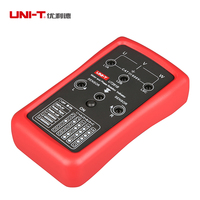UNI T UT261B Phase Sequence LED Motor Rotation Indication Tester Meters 90V 600V AC