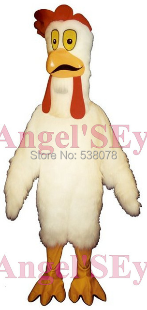 Disfraz De Cosplay De Anime Mascota De Pollo Blanco Disfraz De Pavo