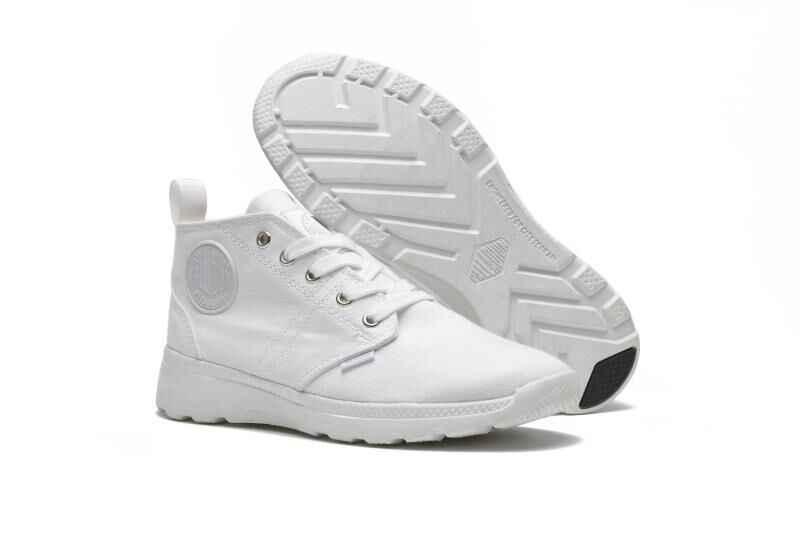 237926dbda Detail Feedback Questions about PALLADIUM New style Pampa Medium Top Cowboy  Classic Sneakers Flats Canvas Ankle Casual Shoes Men Zapatos de hombre Eur  39 45 ...