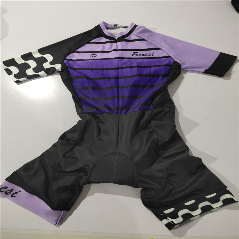 2019 Frenesi women 39 s skinsuit sexy body cycling jersey Maillot ciclismo clothing triathlon run speedsuit mtb jersey short set in Cycling Sets from Sports amp Entertainment