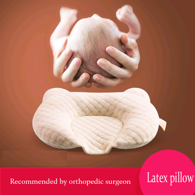 Breathable Newborn Baby Head Support Pillow