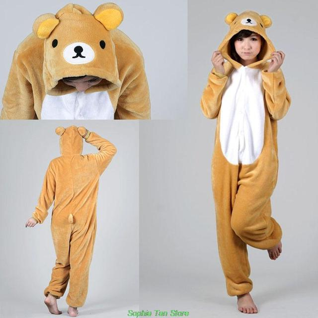 Special Use Clothing Easy Bear Adult Onesie Costume Cosplay Apparel Anime Flannel Pajamas Pyjamas Hoodies Sleepwears & Special Use Clothing Easy Bear Adult Onesie Costume Cosplay Apparel ...