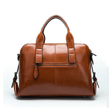 Women's Stylish Genuine Leather Bag without Pattern