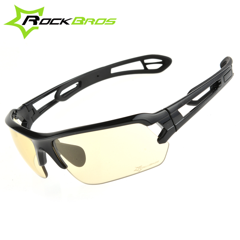 ROCKBROS Cycling Glasses Cycling Sunglasses Sports Bike Bicycle Mountain Bike Sunglasses Goggles Black, White, Blue 50 obaolay outdoor cycling sunglasses polarized bike glasses 5 lenses mountain bicycle uv400 goggles mtb sports eyewear for unisex
