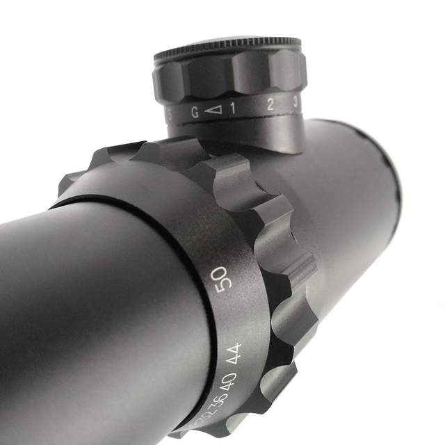 Shooting hunting 4-50 x75 long range 35mm tube rifle scope military optical telescope sights sniper mil dot reticle riflescope 5