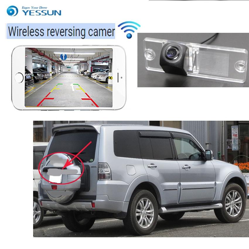 YESSUN car new hd wireless rear camera for Mitsubishi Pajero Montero Shogun V80 mk4 CCD hd  Night Vision Backup camera Mitsubishi Pajero