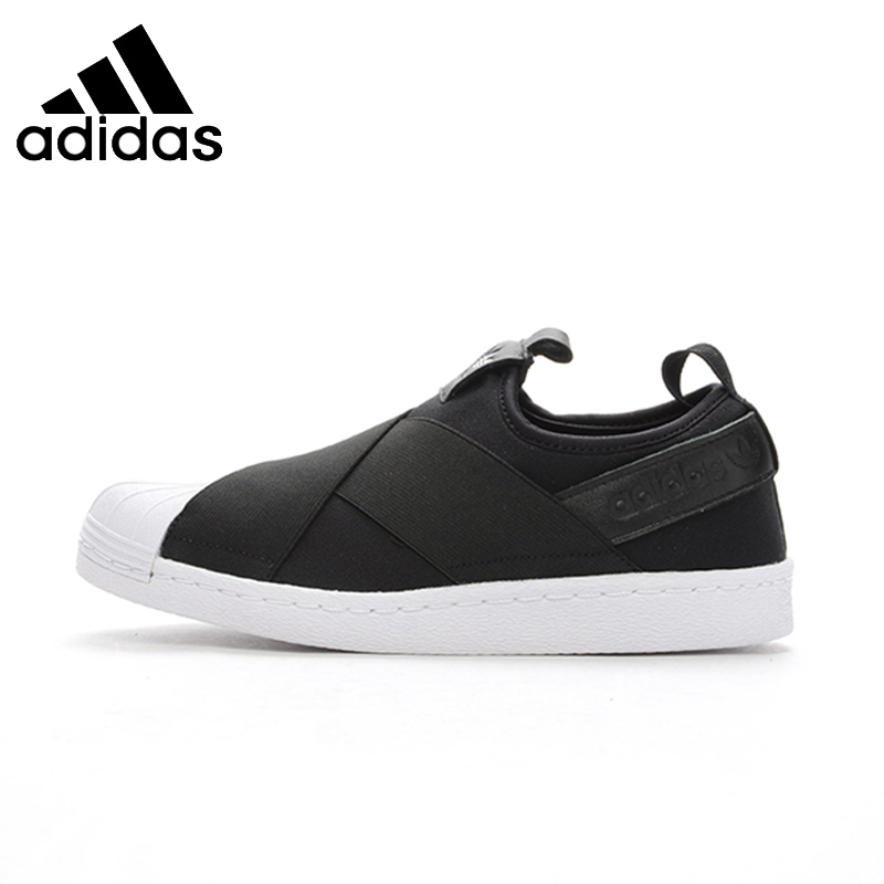 ADIDAS Superstar SlipOn Original Mens & Womens Skateboarding Shoes Breathable Comfortable Sneakers For Mens And Womens Shoes nike original new arrival mens skateboarding shoes breathable comfortable for men 902807 001