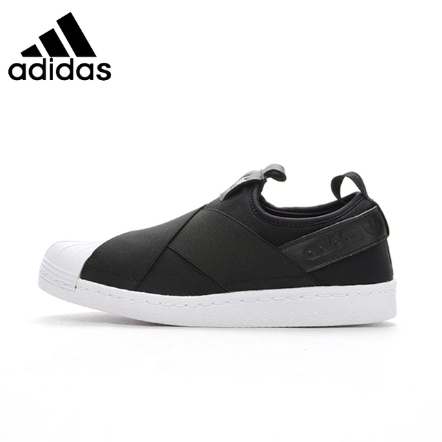 64f34090f ADIDAS Superstar SlipOn Original Mens   Womens Skateboarding Shoes  Breathable Comfortable Sneakers For Mens And Womens
