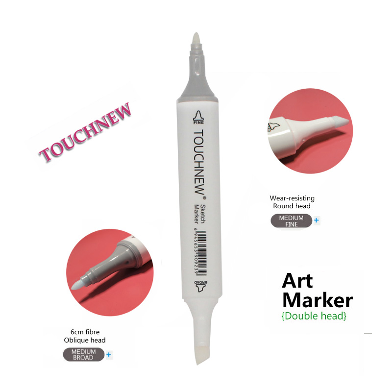 1Pc TOUCHNEW 0# Colorless Blender Marker Double-headed Alcohol Based Ink Sketch Markers Set For Artist Manga Painting Supplies