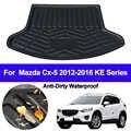 Auto Hinten Trunk Cargo Mat Fach Boot Liner Teppich Protector Boden Pad Matten Für Mazda CX-5 CX5 2012 2013 2014 2015 2016 KE Serie