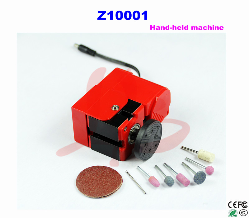 Mini lathe machine Z10001 Mini Hand-held machine for teaching and DIY adjustable double bearing live revolving centre diy for mini lathe machine