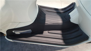 Image 2 - אופנוע גומי דוושת רגל pad עבור וספה ספרינט 150 Primavera 150 חילוף