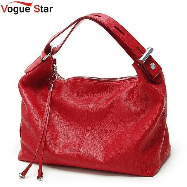 Vogue Star Fashion 100% Real Genuine Leather OL Style Women Handbag Tote Bag Ladies Shoulder Bags Wholesale price  YB40-358