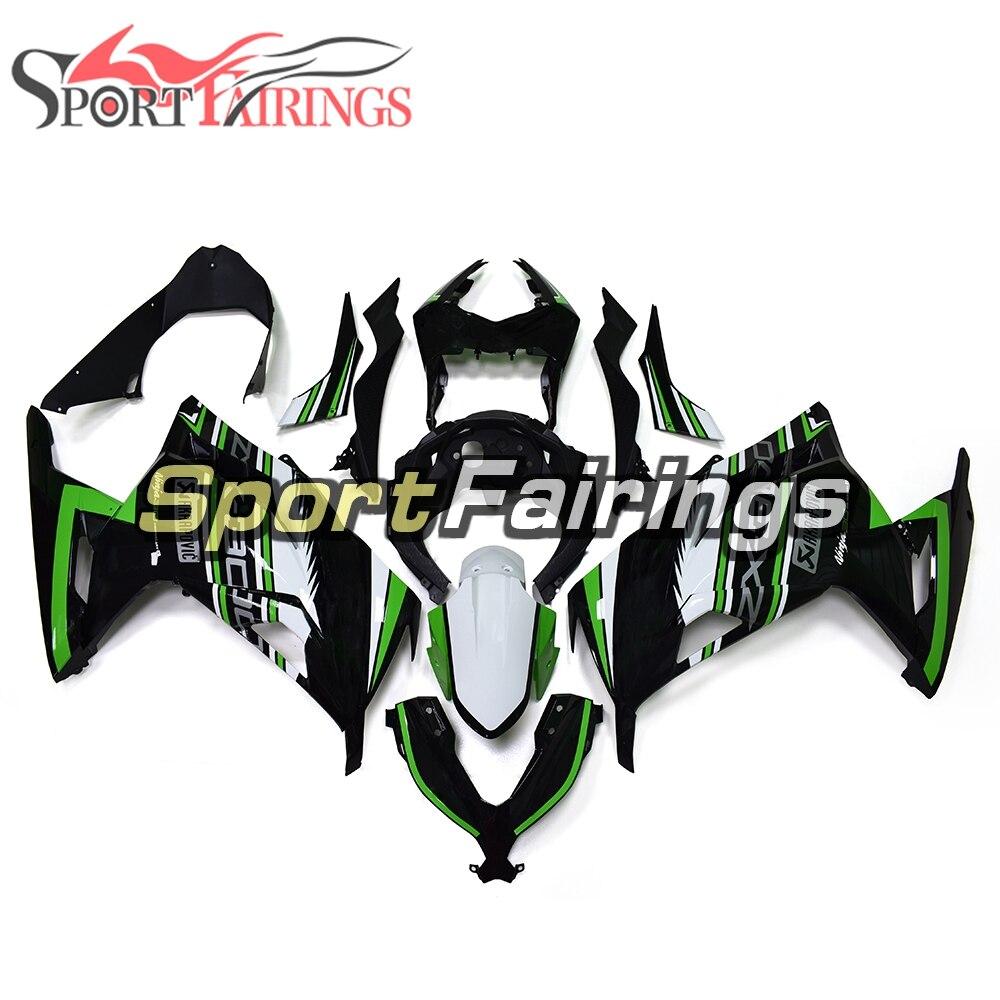 Full Motorcycle Fairings For Kawasaki Ninja 300 13 14 EX300R EX-300R 2013 2014 ABS Injection Motorcycle Bodywork Green Black New