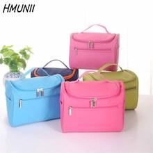 HMUNII Women Travel Makeup Bag Multifunction Cosmetic Bags 2017 New Fashion Waterproof Storage Toiletry Bag Organizer Men
