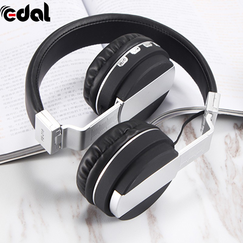 FM Card Folding Headset Bluetooth Stereo Headphones Wireless Headphones Bluetooth 4.2 Headset Over The Ear Headphones new bluetooth headset wireless headset folding headphones mp3 player fm radio music stereo headphones for xiaomi headphones