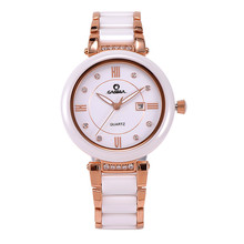 CASIMA Fashion Women's Bracelet Dress Watches Luxury Ladies Quartz Watch Gold Stainless Steel Simple Wristwatches Montre Femme