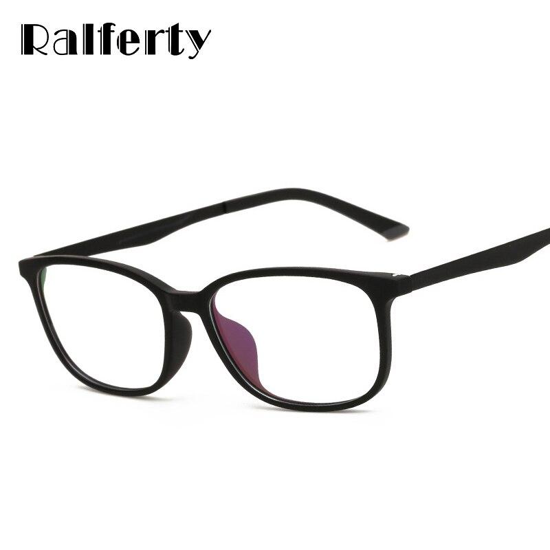 Ralferty Ultra Light TR90 Computador Óculos de Armação Armações de Óculos  Homens Mulheres Oculos de Grau ee84f5ce60