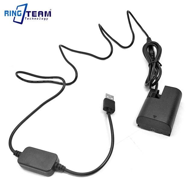 LP E6 DR E6 ACK E6 DC USB محول المقرنة كيت لكانون كاميرات EOS 5D علامة II III 5D2 5D3 6D 7D 7D2 60D SLR كاميرا