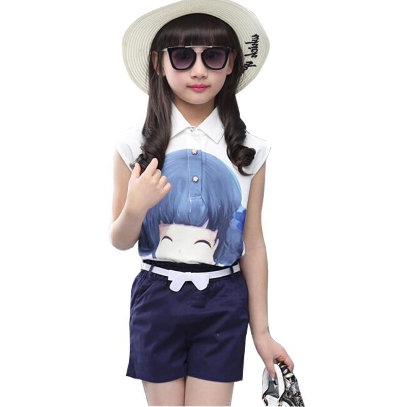 Unique Trolls Short Sleeve T Shirts  Leggings Pants Clothing Set For Girls