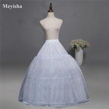 52016 düğün elbisesi Kabarık Etek Gelin Petticoat Jüpon 3 Çemberler