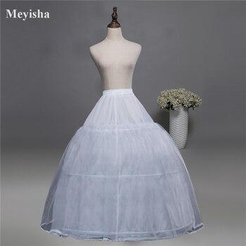 Vestido de novia en crinolina