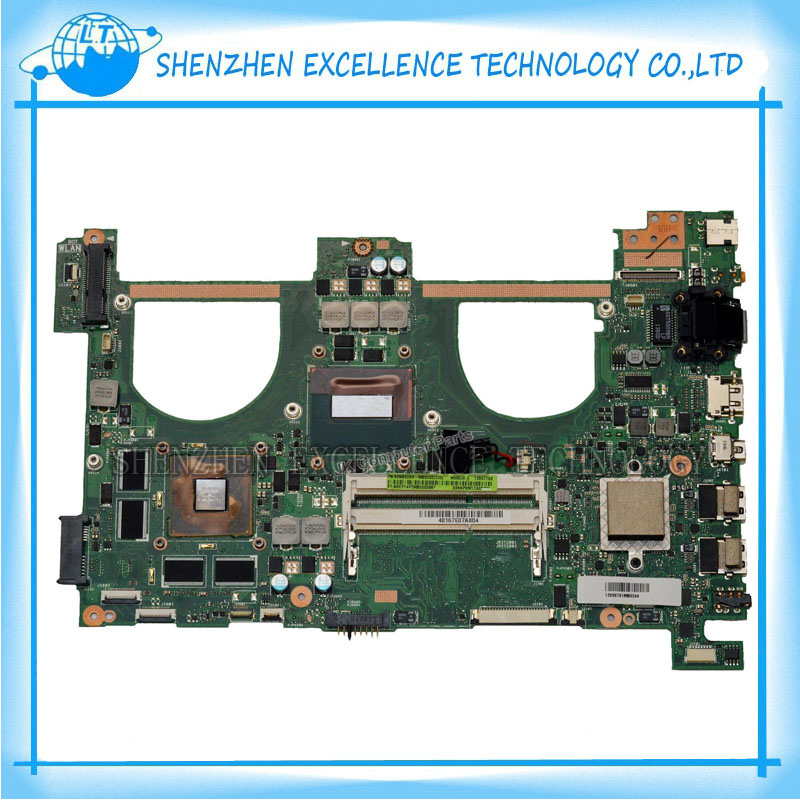 N550JV I7-4700HQ 2.4GHZ DDR3 original laptop motherboard for ASUS nivida GeForce GT750M Non-integrated mainboard full tested