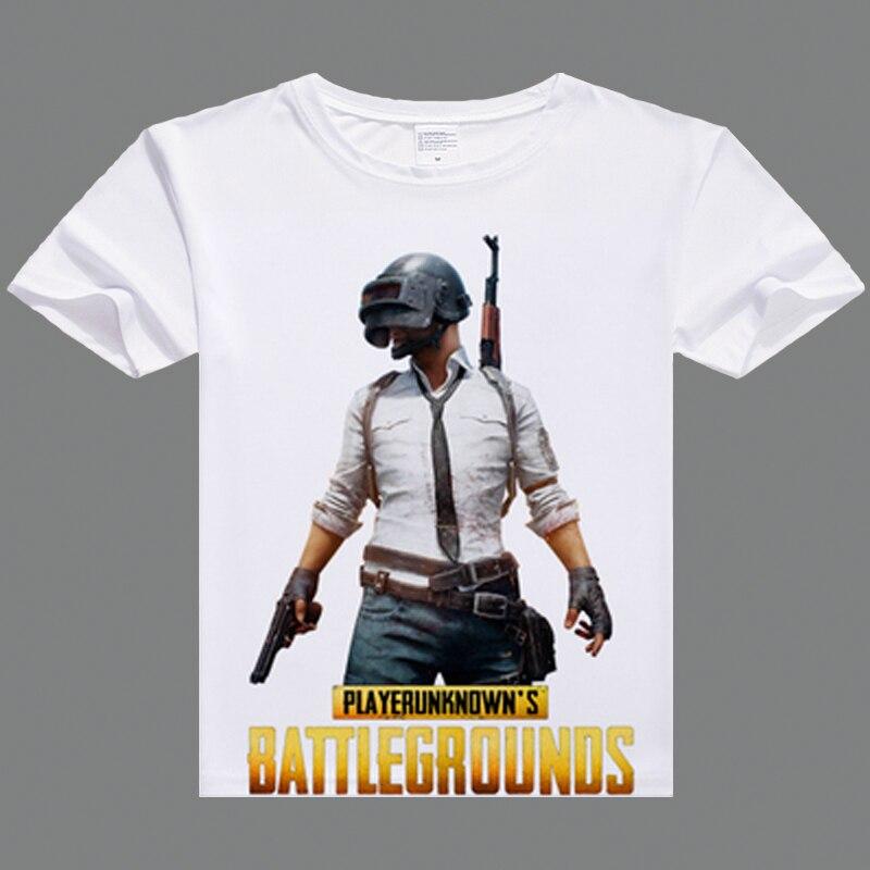 PUBG tshirt Hot Game printing casual tshirt for men PLAYERUNKNOWN'S BATTLEGROUNDS T shirts men fashion t shirts