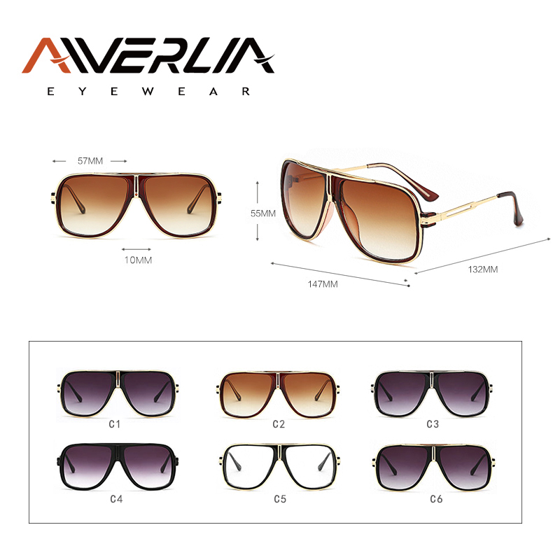 AIVERLIA Hot Classic Sunglasses Men Women Sunglasses Square Shades Male Vintage Brand Designer Unisex Oculos Gafas de sol AI15 in Men 39 s Sunglasses from Apparel Accessories
