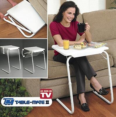 Smartlife Table compagnon 2 TV produit table enfants/ordinateur portable bureau/d'apprentissage/pliage ordinateur de bureau