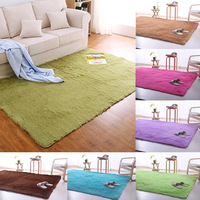 Home Decoration 140 200cm Small Size Plush Shaggy Soft Carpet Area Rugs Non Slip Floor Mats