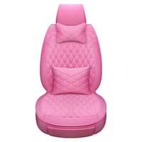 Autumn and Winter Series Soft Down Fabric Cushions Elegant Lady Style Multi Color Optional Car Seat Covers