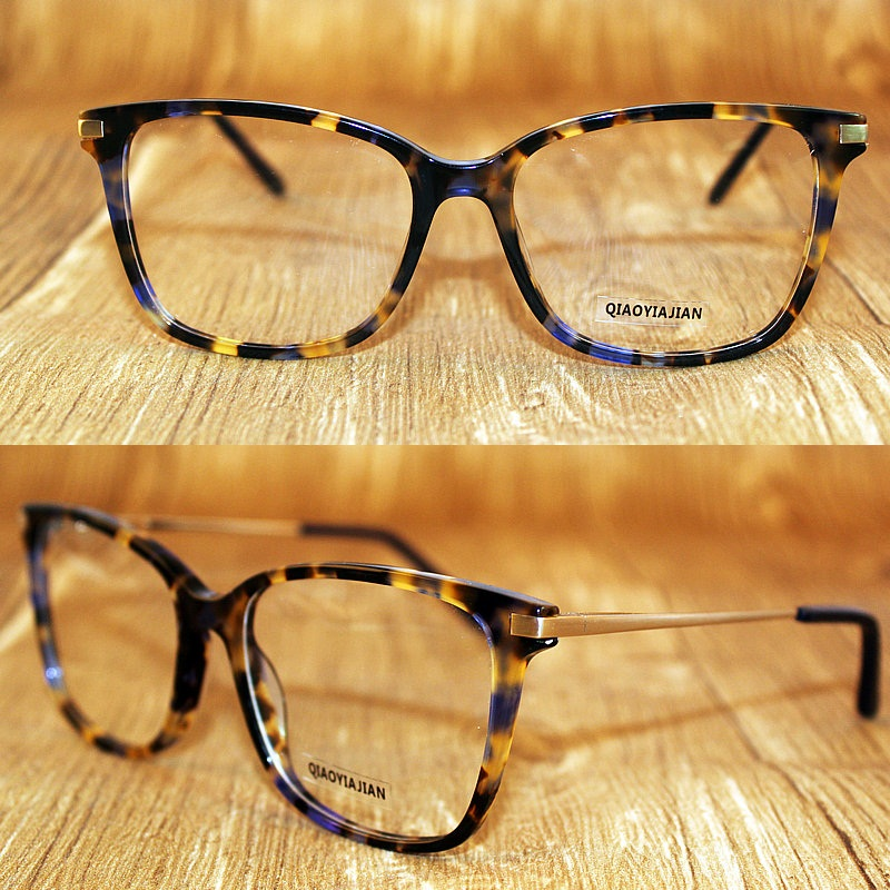 a52a1342d41 7501 Factory price Acetate Eyewear Eyeglasses Frame 4 colors Optical frame-in  Eyewear Frames from Apparel Accessories on Aliexpress.com