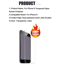 4 7 inch For Apple iPhone 6 6s Screen Protector Film 0 26mm 2 5D Explosion