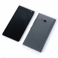 Original For Nokia Lumia 730 735 LCD Display Touch Screen Digitizer(lcd+frame+nfc wireless charging battery back cover)