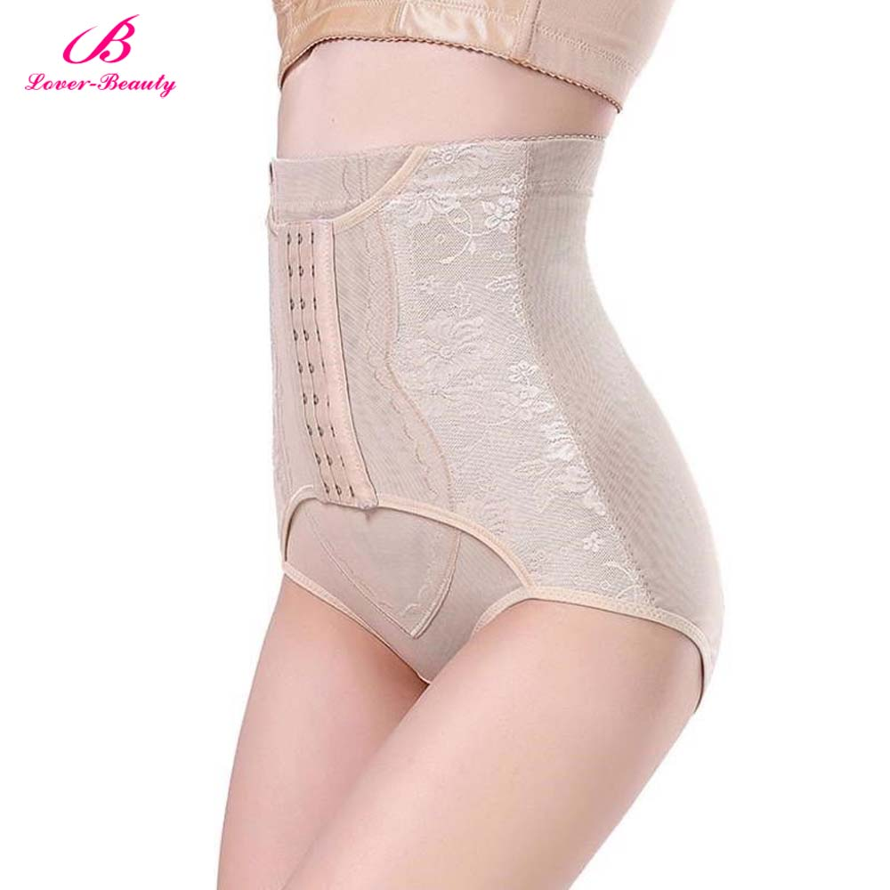 307751add7 Lover Beauty High Waist Trainer Tummy Control Panties Butt Lifter Body  Shaper Corsets Hip Abdomen Shapewear Panty Hooks A-in Control Panties from  Underwear ...