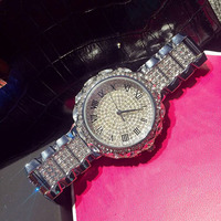 7 Color Rhinestone Luxury Women Diamond Quartz Watch Famous Brand Elegant Dress Watches Ladies Wristwatches Relogios