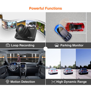 "Image 3 - ThiEYE Safeel 3/3R DVR Dash Camera Russian Version 145 Degree Vehicle Camera Real 1080P Dash cam G sensor 2.45"" Rear View Camera"