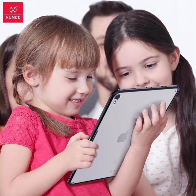 מקרן קיר XUNDD אקריליק + TPU מגן Tablet Case Cover עבור iPad 2018/2017 Pro 11 12.9 אוויר 2 / 9.7 אוויר 3 / 10.5 אינץ