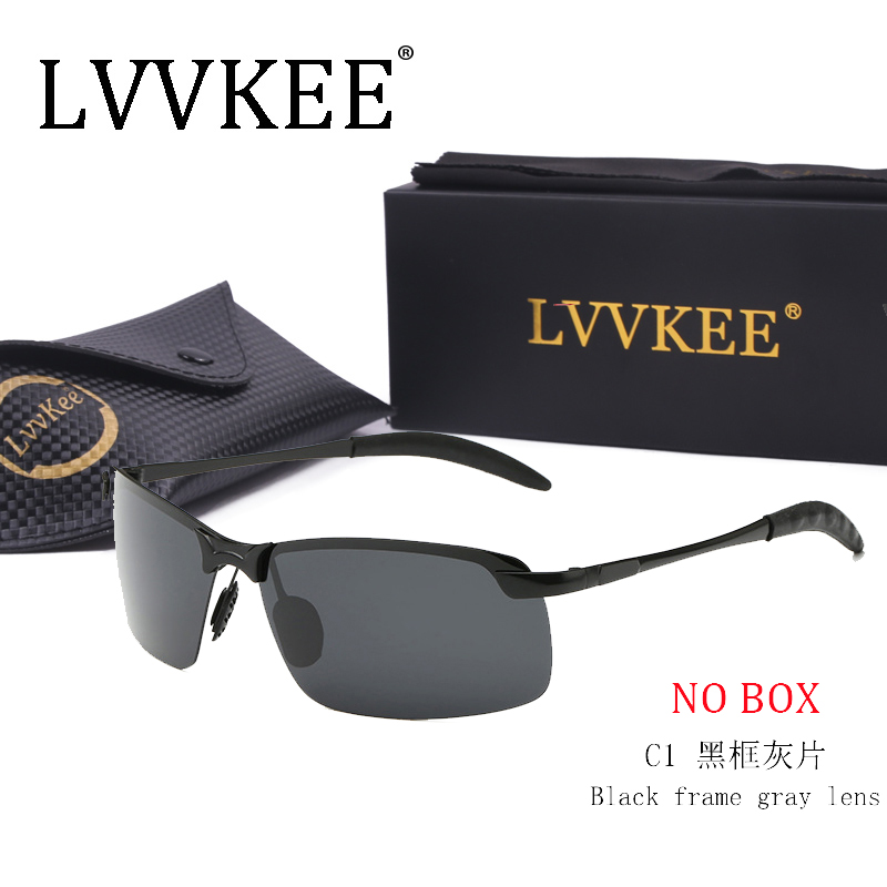2019 LVVKEE Hot Brand Designer Polarized Men Sunglasses