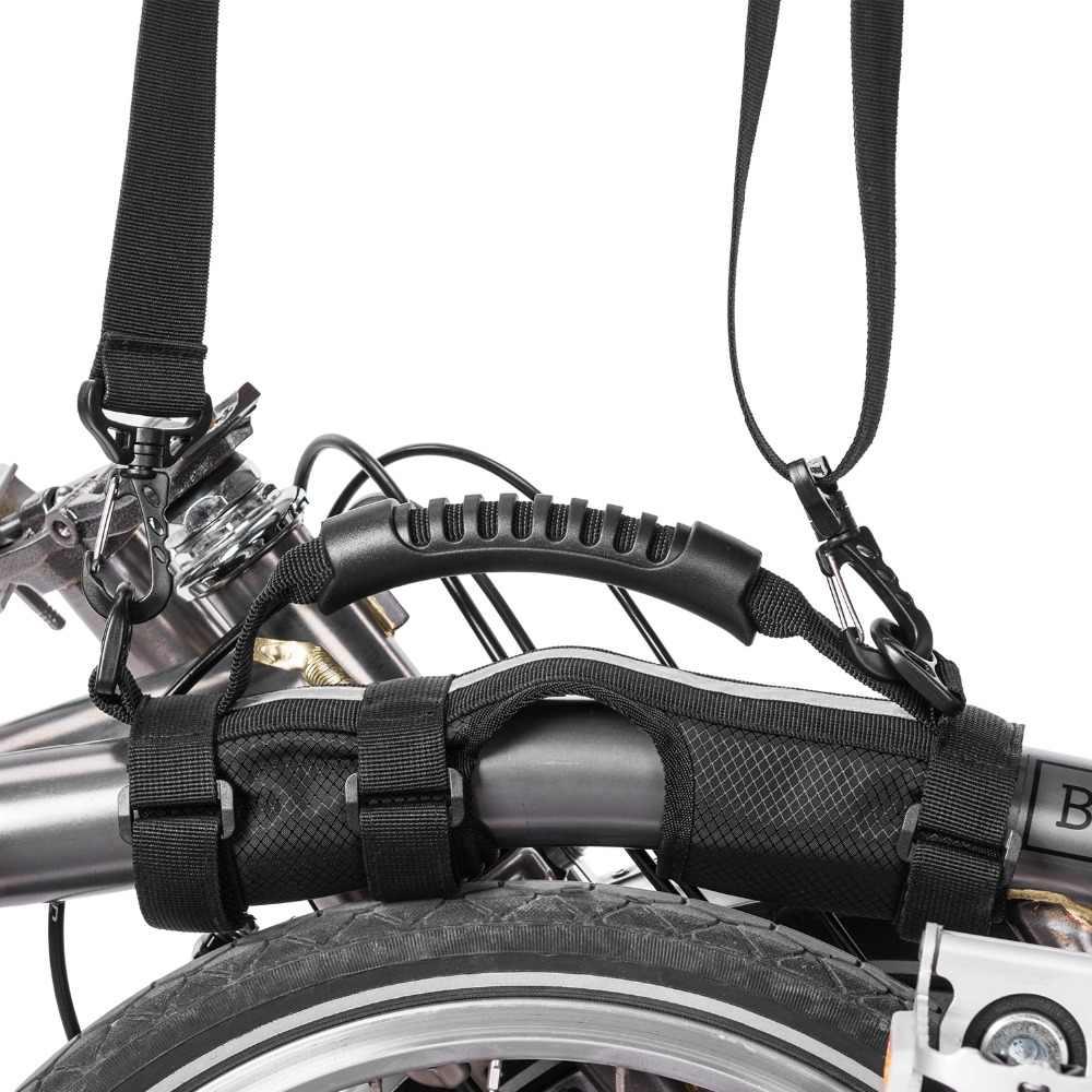 ROCKBROS Brompton Tali Bahu Anak Sepeda Anak Sepeda Lipat Bingkai Membawa Menangani dengan Peralatan Sepeda Kick Scooter Membawa Tali