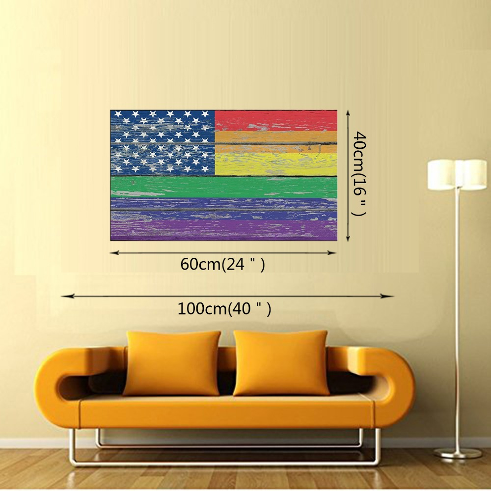 Perfect Flag Wall Decor Adornment - The Wall Art Decorations ...