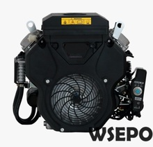 Factory Direct Supply WSE-2V78F 678CC 22HP 13KW V Twin Cylinder Air Cool 4 Stroke Gas Engine,used for Generator,Ground Driller