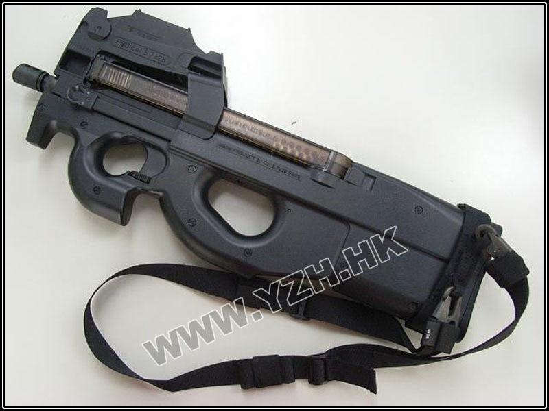 Emerson P90 P9O Senjata Khusus Sling Airsoft Painball Militer Berburu Sling Hitam EM6412