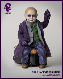 Image 3 - 1/6 Scale Take Happiness Home Collectible Full Set 15cm Lakor JOKER Baby 2.0 Boy Action Figure Doll Model for Fans Colelction Gi