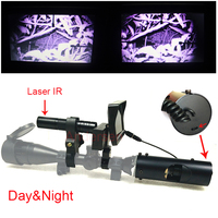 Sniper Zoom Outdoor Hunting Optics Sight Scope 4 16X40AOMC Tactical Digital Infrared Night Vision Riflescope Use