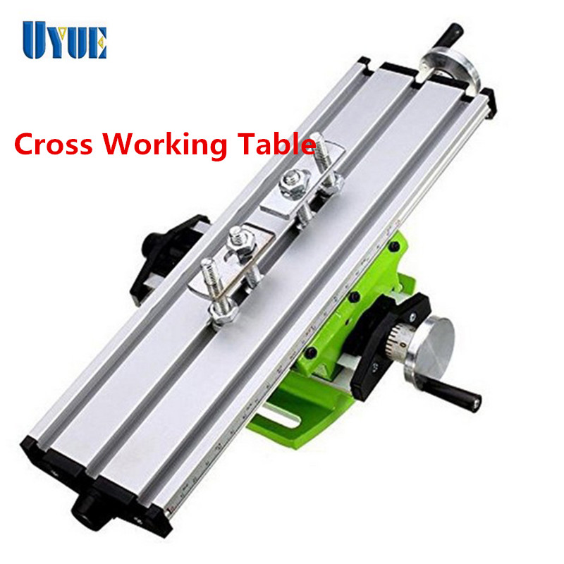 Multifunctional Mini Cross Working Table For Drilling ...