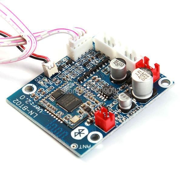 Placa do Módulo de Som Estéreo Sem Fio Bluetooth 3.0 Receptor De Áudio para Carro/Telefone/PC