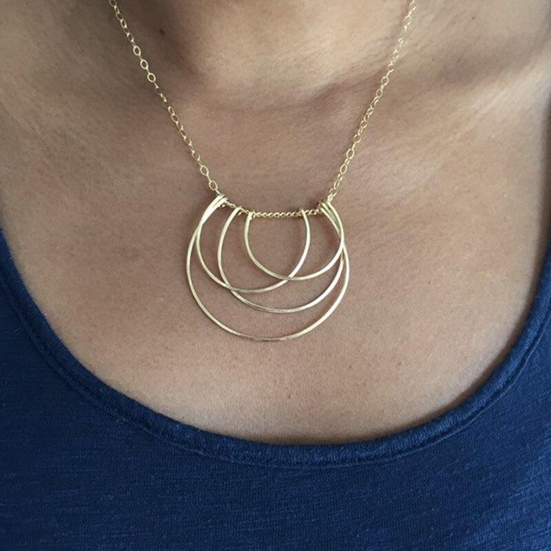 925 argent lettre U colliers faits à la main bijoux personnalisés or Wrap pendentif Vintage Hoho Choker Kolye bijoux femmes Riverdale